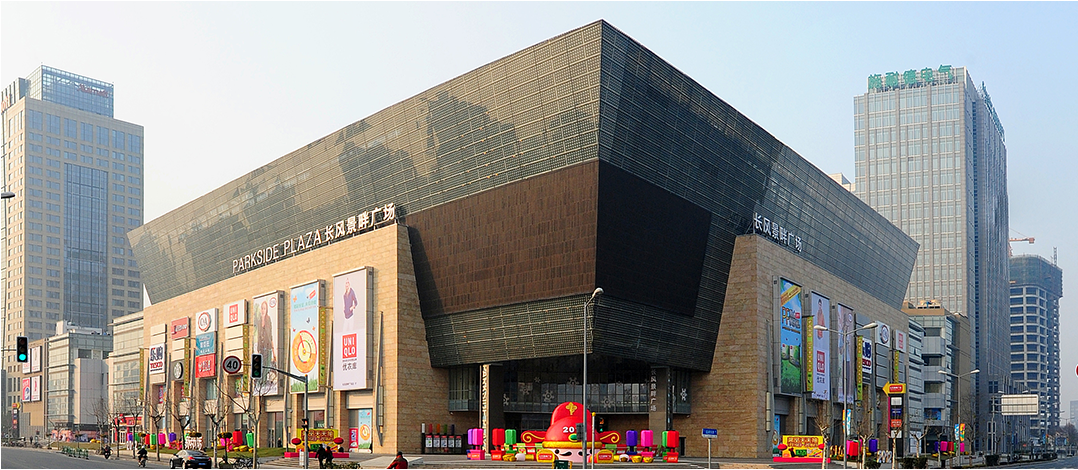 上海长风景畔广场